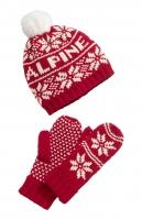 Комплект шапка+рукавички