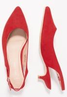 Балетки червоні на каблучку New Look