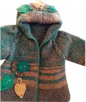 Пальто дитяче плетене
