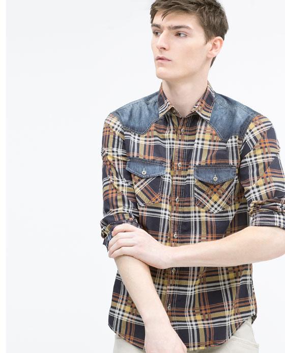 Чоловічі сорочки Zara