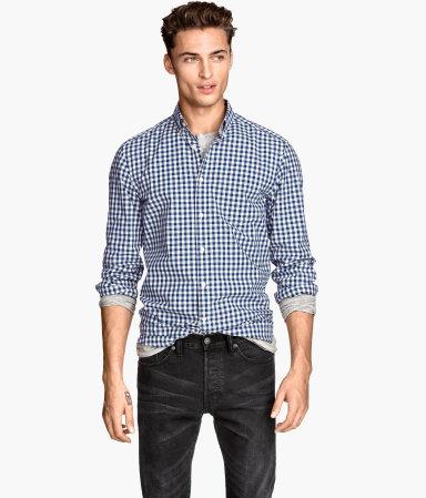 Чоловічі сорочки H&M